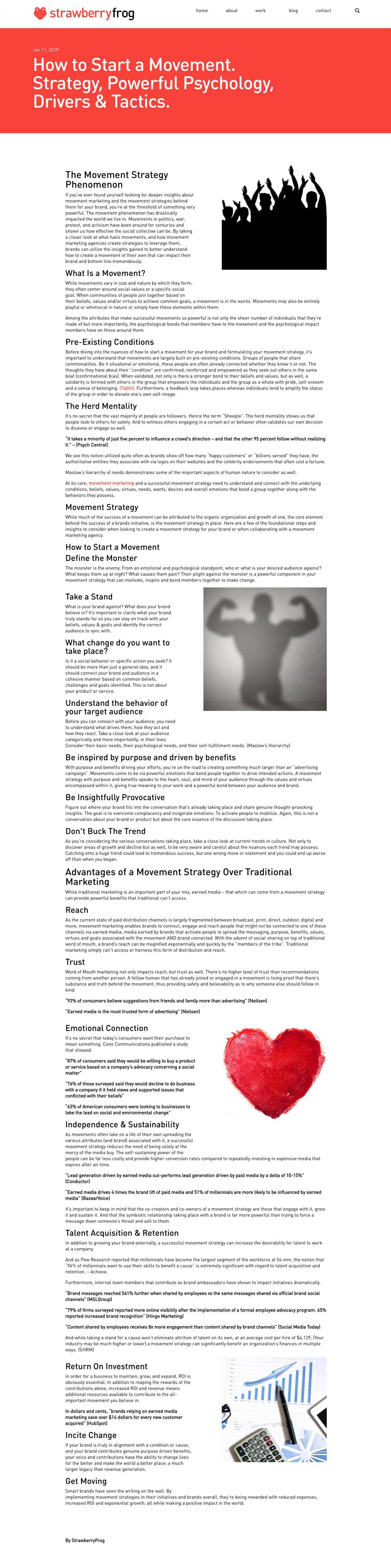 movement strategy